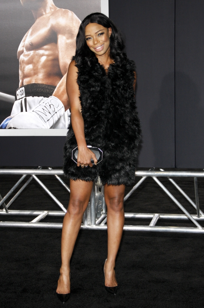 "11/19/2015 - Jill Marie Jones - ""Creed"" Los Angeles Premiere - Arrivals - Regency Village Theatre - Westwood, CA, USA - Keywords: Orientation: Portrait Face Count: 1 - False - Photo Credit: David Gabber / PRPhotos.com - Contact (1-866-551-7827) - Portrait Face Count: 1"