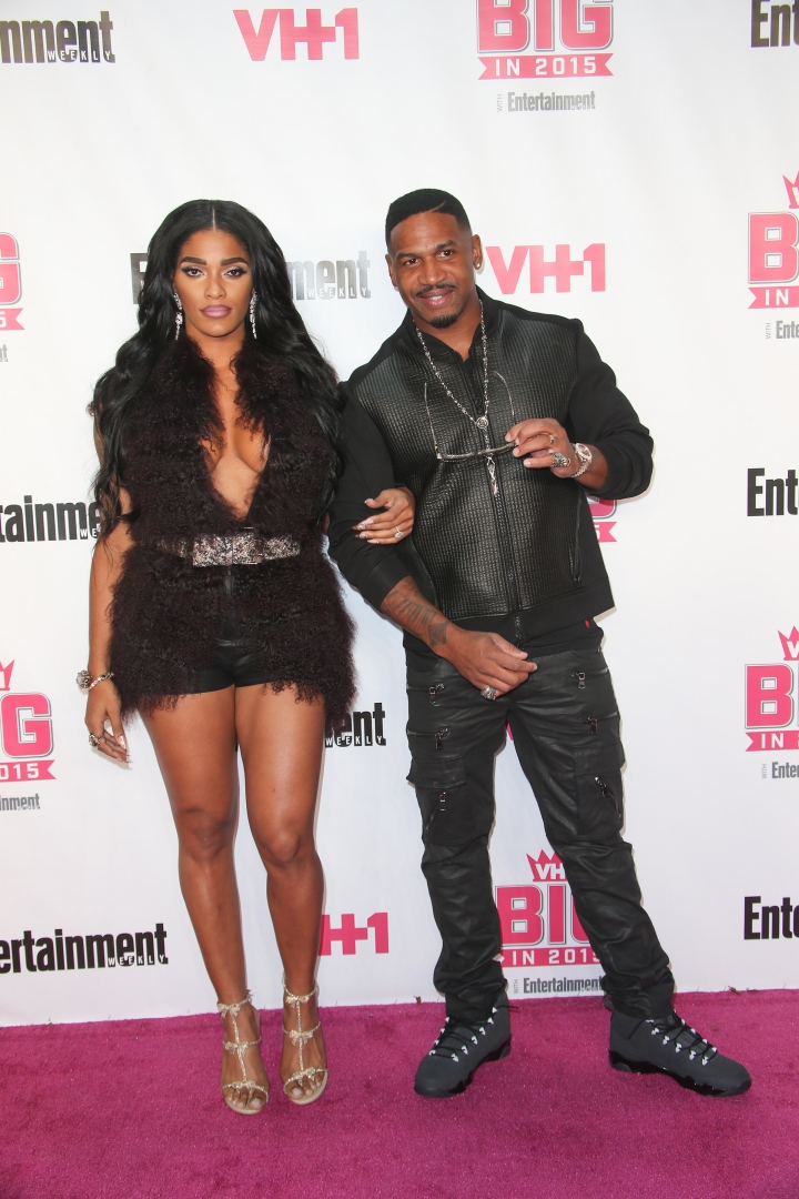 Joseline and Stevie J