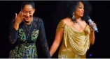 Must See! Tracee Ellis Ross Sings with Mom Diana in 'Vegas [WATCH]
