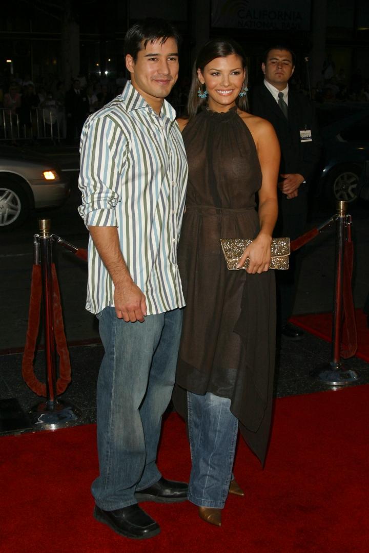 Mario Lopez & Ali Landry
