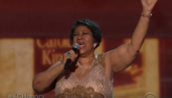 Aretha Franklin Shuts Kennedy Center Down With Natural Woman Makes POTUS Cry WATCH