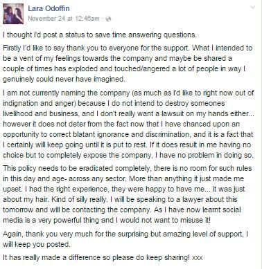 rescinding a job acceptance