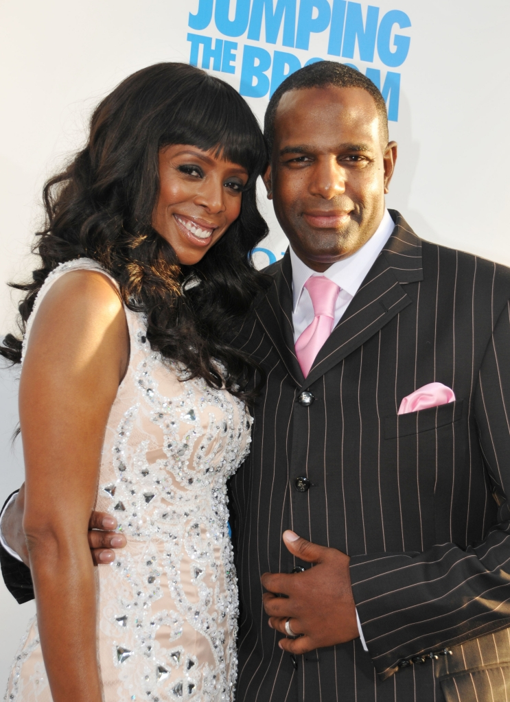 "05/04/2011 - Tasha Smith and Keith Douglas -  ""Jumping the Broom"" Los Angeles Premiere - Arrivals - Arclight Cinerama Dome - Hollywood, CA, USA - Keywords:  Orientation: Portrait Face Count: 1 - False - Photo Credit: Koi Sojer / PR Photos - Contact (1-866-551-7827) - Portrait Face Count: 1"