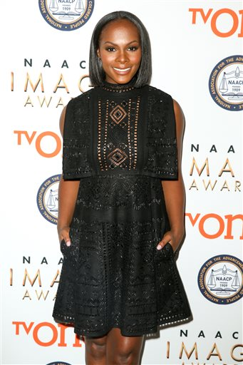 Tika Sumpter attends the 47th NAACP Image Awards Nomination Announcement and press conference at The Paley Center for Media on Tuesday, Dec. 8, 2015, in Beverly Hills, Calif. (Photo by Rich Fury/Invision/AP)