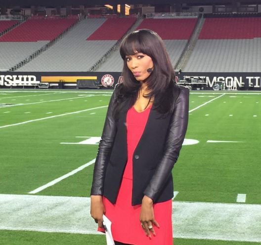 Cari Champion – host of Sportscenter