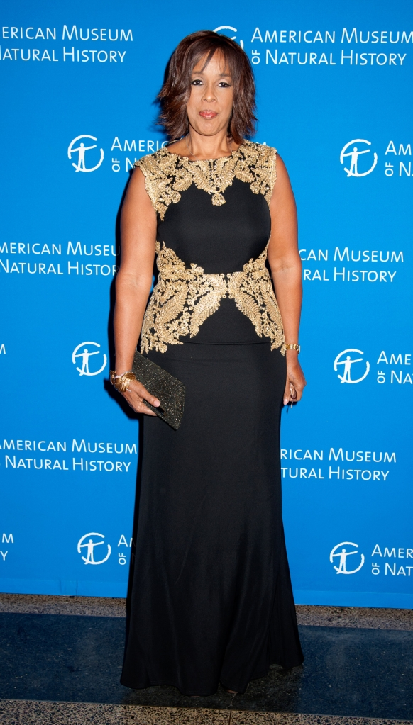11/19/2015 - Gayle King - 2015 American Museum of Natural History Museum Gala - Arrivals - American Museum of Natural Histor - New York City, NY, USA - Keywords: Vertical, Portrait, Photography, AMNH, Arts Culture and Entertainment, Celebrity, Celebrities, Attending, Person, People, Topix, Bestof Orientation: Portrait Face Count: 1 - False - Photo Credit: Janet Mayer / PRPhotos.com - Contact (1-866-551-7827) - Portrait Face Count: 1