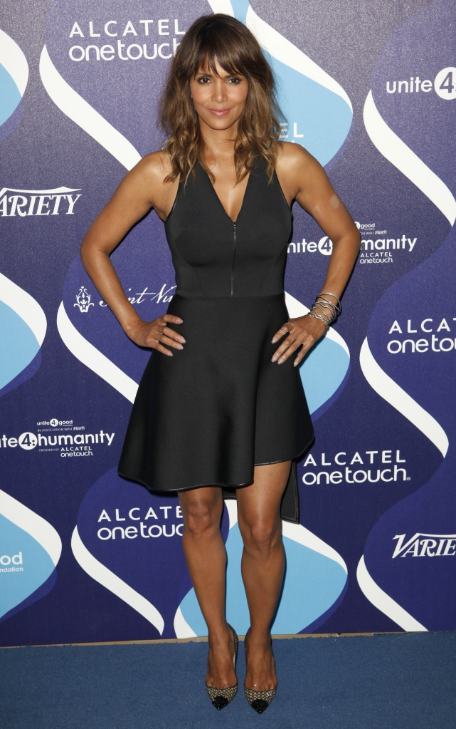 02/19/2015 - Halle Berry - 2nd Annual unite4:humanity Event Presented by Alcatel OneTouch - Arrivals - The Beverly Hilton - Beverly Hills, CA, USA - Keywords:  Orientation: Portrait - False - Photo Credit: Emiley Schweich / PR Photos - Contact (1-866-551-7827) - Portrait