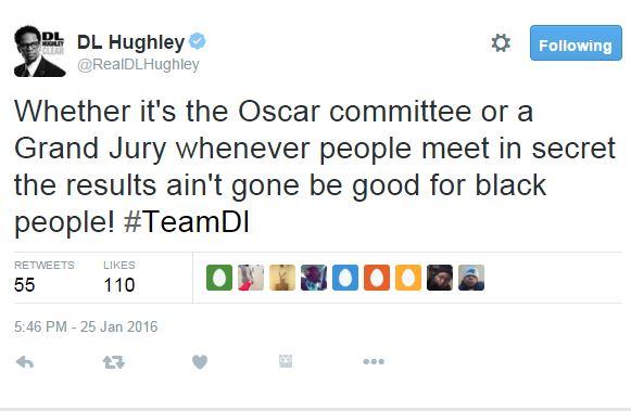 Hughley-Tweet