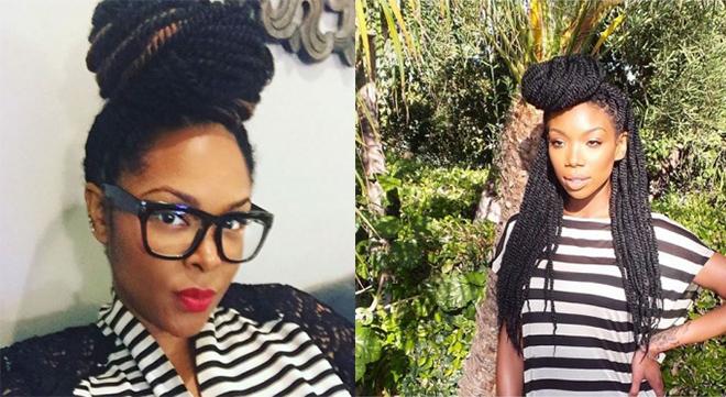 Keisha Epps and Brandy