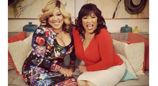 Kym Whitley and Jackee Harry