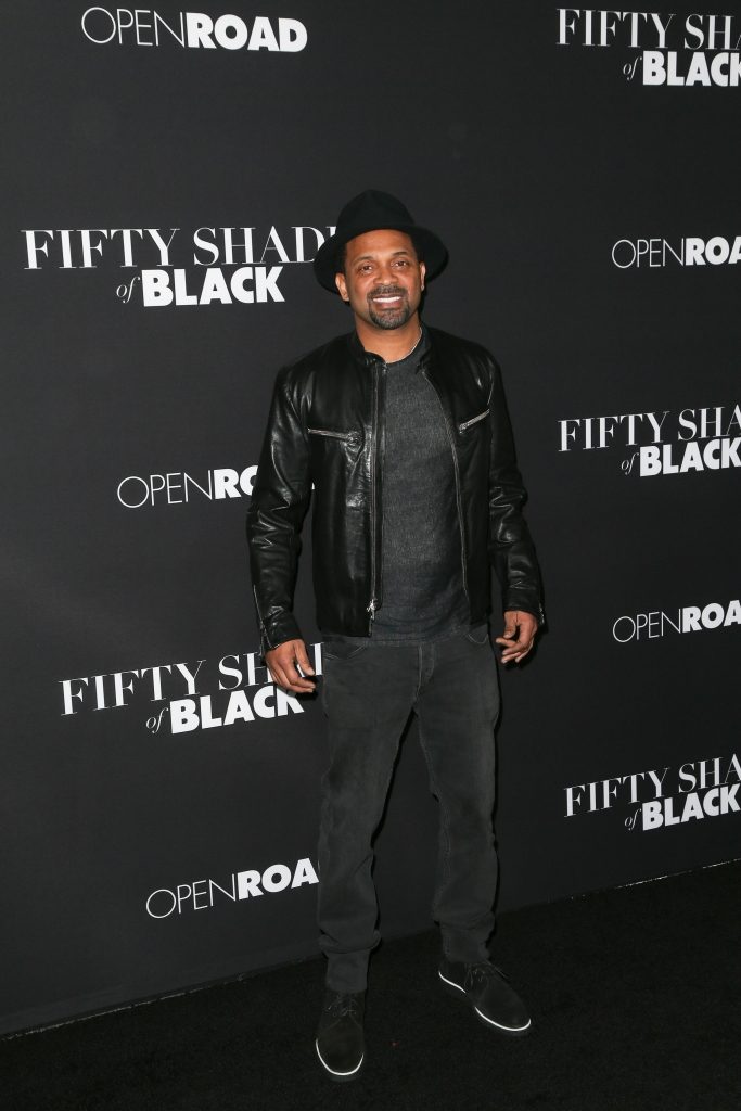 "01/26/2016 - Mike Epps - ""Fifty Shades of Black"" Los Angeles Premiere - Arrivals - Regal Cinemas L.A. Live - Los Angeles, CA, USA - Keywords: Vertical, Film Premiere, Movie Premiere, Portrait, Photography, Film Industry, Arts Culture and Entertainment, Attending, Celebrities, Celebrity, Person, People, Regal Entertainment Group, Topix, Bestof, LA Live, Open Roads Films, ""50 Shades of Black"", Event, California Orientation: Portrait Face Count: 1 - False - Photo Credit: PRPhotos.com - Contact (1-866-551-7827) - Portrait Face Count: 1"