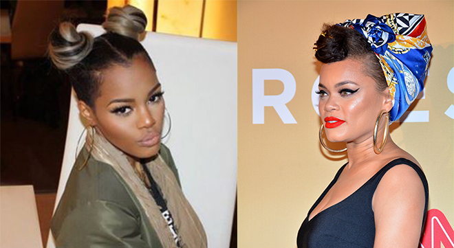 Teyana Taylor and Audra Day