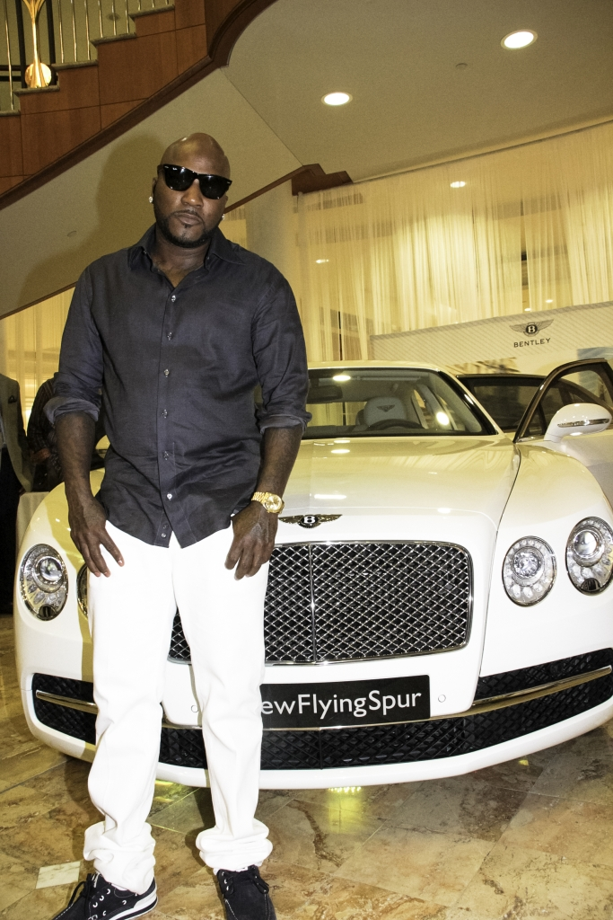 """07/19/2013 - Jay""""Young Jeezy"""" Wayne Jenkins - BENTLEY LAUNCH PARTY FOR THE 2014 FLYING SPUR IN ATLANTA, GA ON JULY 19, 2013 - 3500 Peachtree Rd NE  Atlanta, GA 30326 - Phipps Plaza - Keywords: Black, white, rapper, artist, bentley, fly spur, Young Jeezy, Big tiger, Yelawolf Orientation: Portrait Face Count: 1 - True - Photo Credit: Utho """"denny"""" Coxall / PRPhotos.com - Contact (1-866-551-7827) - Portrait Face Count: 1"""
