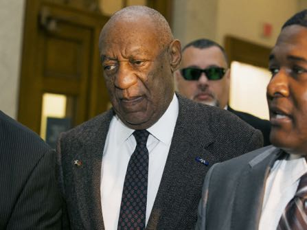 Actor and comedian Bill Cosby arrives for a court appearance Wednesday, Feb. 3, 2016, in Norristown, Pa.  Cosby was arrested and charged with drugging and sexually assaulting a woman at his home in January 2004.  A judge will decide whether to dismiss a sexual assault case against the comedian over an unwritten promise of immunity that a former prosecutor says he gave Cosby's now-deceased lawyer.  (Ed Hille/The Philadelphia Inquirer via AP, Pool)