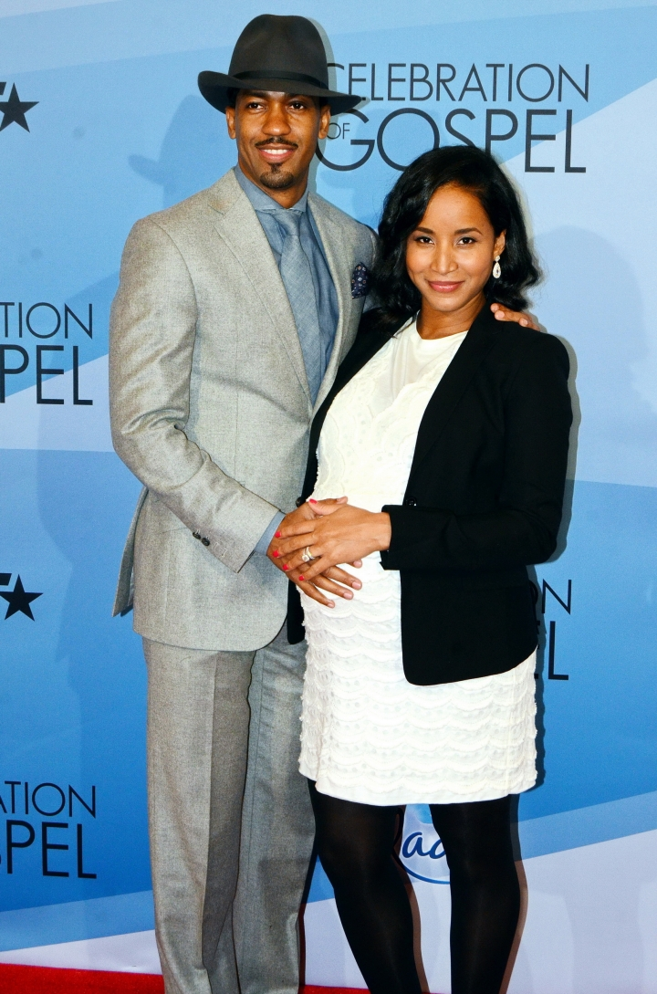 Fonzworth Bentley and wife Faune Chambers
