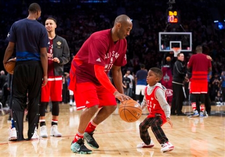 488440be285 Celebrities Celebrate Kobe Bryant s Career + His Best Moments In Photos