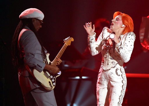 Lady Gaga and Niles Rodgers