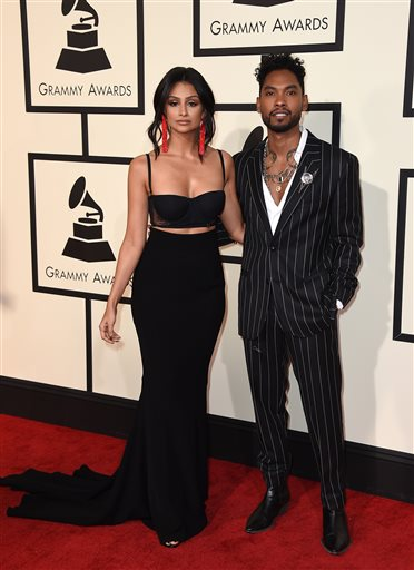 Miguel and his fiance Nazanin