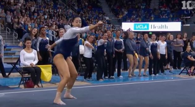 UCLA Gymnast Hits The Quan, The Whip, The Nae Nae On Her Way To Top Score [WATCH]