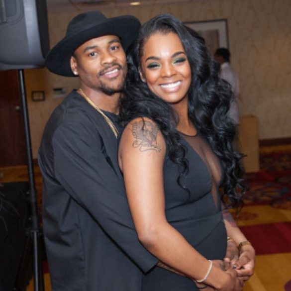 The Panthers' Ted Ginn, Jr. and wife Krystale