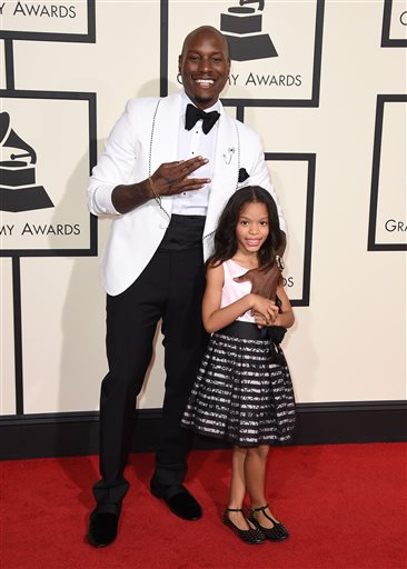 Tyrese and his daughter Shayla