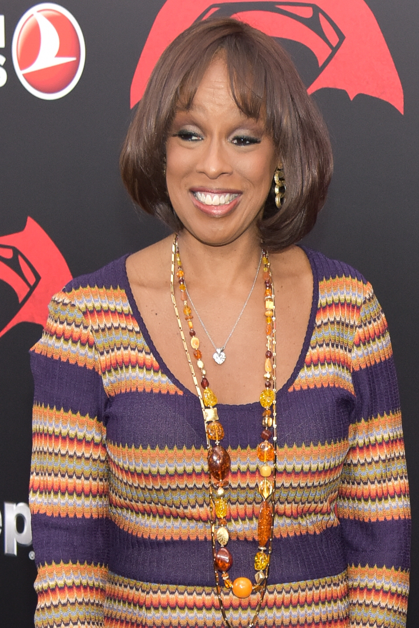 "03/20/2016 - Gayle King - ""Batman v Superman: Dawn Of Justice"" New York Premiere - Arrivals - Radio City Music Hall - New York City, NY, USA - Keywords:  Orientation: Portrait Face Count: 1 - False - Photo Credit: Loredana Sangiuliano / PRPhotos.com - Contact (1-866-551-7827) - Portrait Face Count: 1"