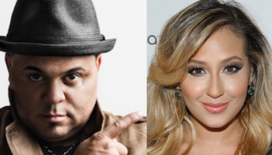 Adrienne Bailon Posts Birthday Message to Israel Houghton's
