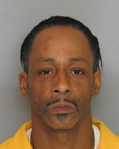 This Tuesday March 8, 2016, booking photo provided by the Hall County Sheriff's Office, shows comedian Micah Katt Williams, jailed on charges of terroristic threats, false imprisonment and aggravated assault. The Hall County Sheriff's Office says Williams has been arrested after he threatened to kill his bodyguard while an acquaintance assaulted him. (AP Photo/Courtesy of the Hall County Sheriff's Office)