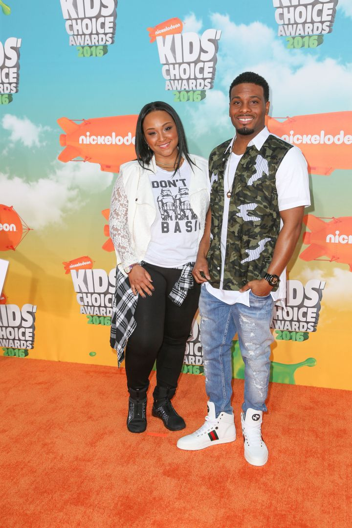 Kel Mitchell and his wife Asia