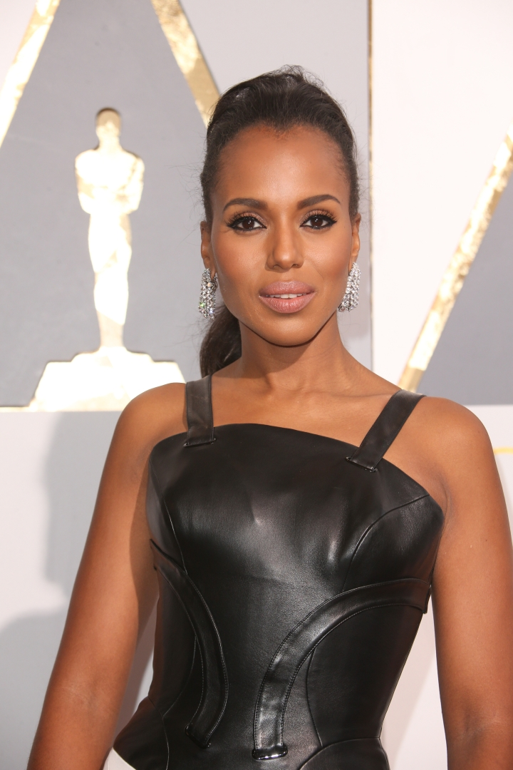 Kerry Washington joined the swim team in high school.