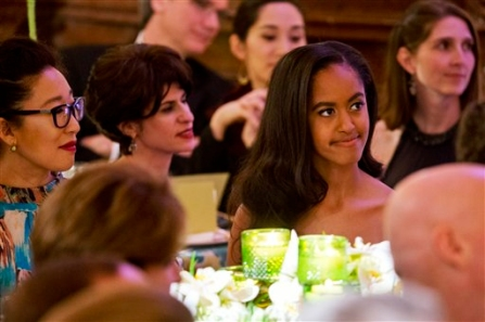 Malia Obama Could Find Herself In The Middle