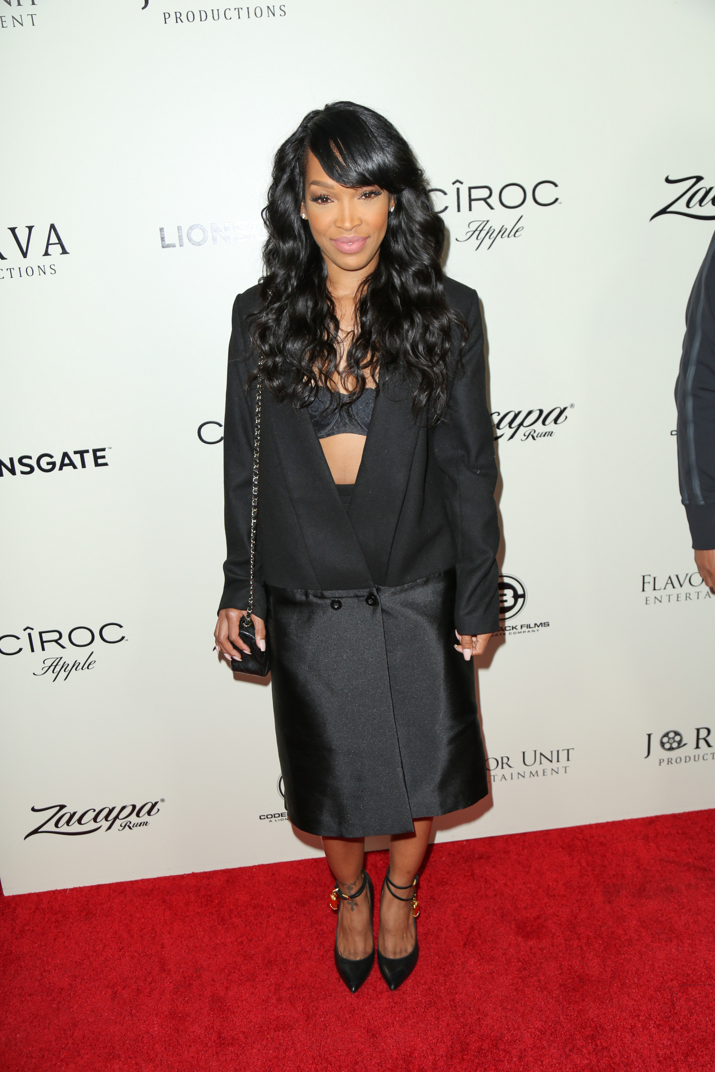"03/07/2016 - Malika Haqq - ""The Perfect Match"" Los Angeles Premiere - Arrivals - ArcLight Hollywood Cinemas, 6360 Sunset Boulevard - Los Angeles, CA, USA - Keywords: Vertical, Person, People, Celebrity, Celebrities, Red Carpet Event, Arts Culture and Entertainment, Bestof, Topix, Comedy, Romance, Lionsgate Films, Lions Gate Films, Jorva Entertainment Productions, California Orientation: Portrait - False - Photo Credit: Guillermo Proano / PR Photos - Contact (1-866-551-7827) - Portrait"
