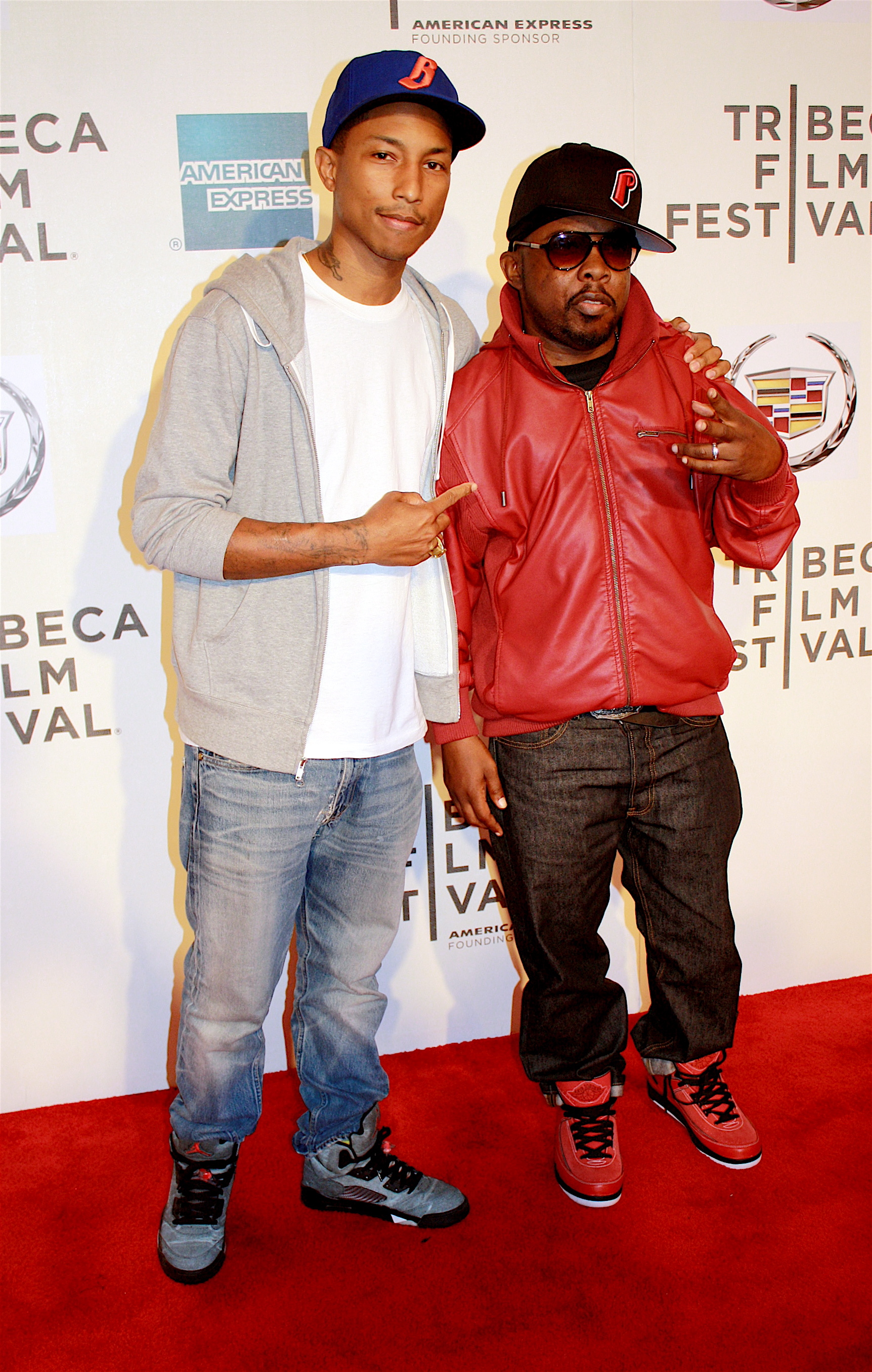 "04/27/2011 - Pharrell Williams and Phife Dawg - 10th Annual Tribeca Film Festival - ""Beats, Rhymes & Life: The Travels of a Tribe Called Quest"" Premiere - Arrivals - Tribeca Performing Arts Center - New York City, NY, USA - Keywords: Malik Issac Taylor, Tribe Called Quest, Q Tip, Phife Dawg, Tribeca Film Festival, Beats, Rhymes and Life, Pharrell Wiliams, N.E.R.D Orientation: Portrait Face Count: 1 - False - Photo Credit: Hollie Jones / PR Photos - Contact (1-866-551-7827) - Portrait Face Count: 1"