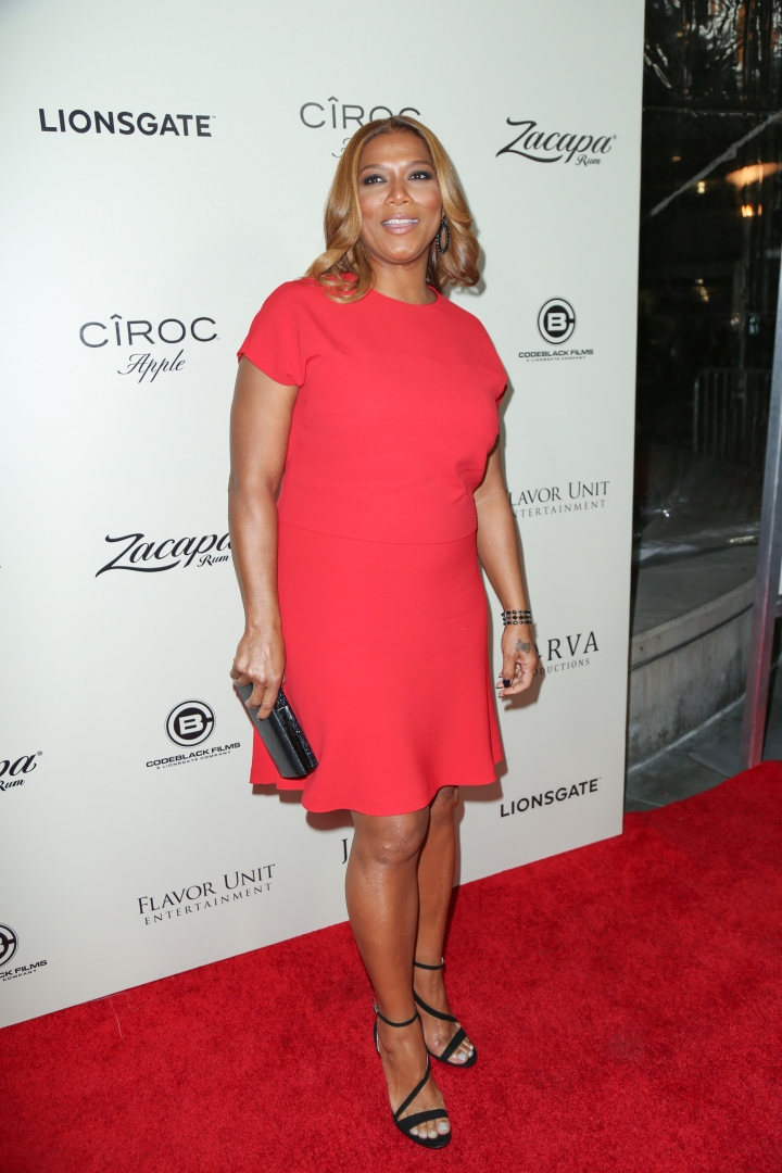 Queen Latifah made her acting debut with a role in 'Jungle Fever.'