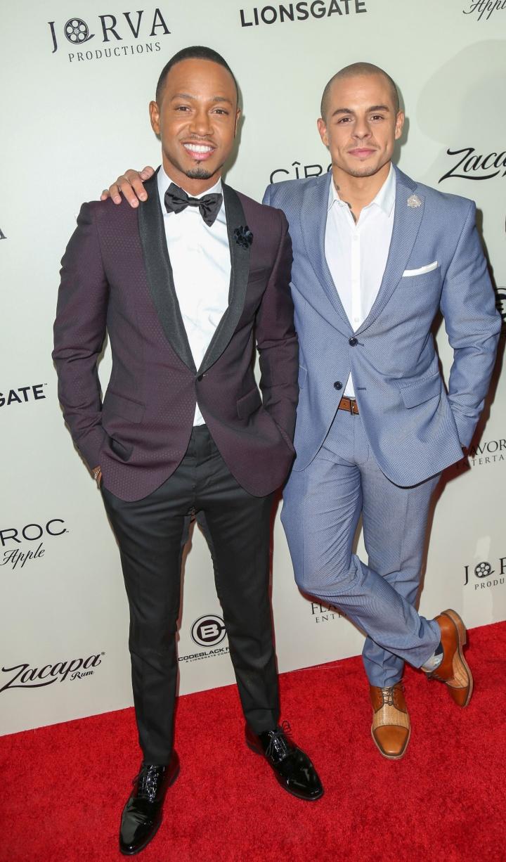 Terrence J and Casper Smart