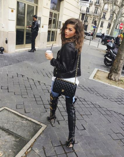 Our Fave Stylish Moments From Zendaya