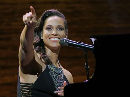 Alicia Keys real name is Alicia Augello Cook.