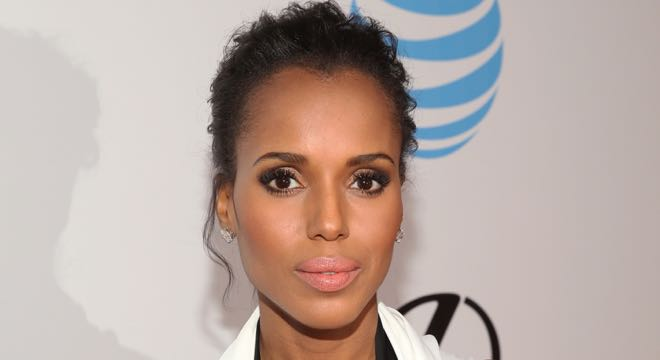 Kerry Washington was a part of a cappella singing group called Triple Trio when she attended the Spence school in Manhattan.