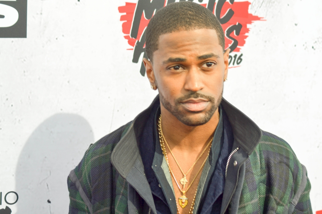 04/03/2016 - Big Sean - 2016 iHeartRadio Music Awards - Arrivals - The Forum - Los Angeles, CA, USA - Keywords: 2016 iHeartRadio Music Awards Orientation: Landscape Face Count: 1 Headshot - False - Photo Credit: Bernadette Giacomazzo/PR Photos - Contact (1-866-551-7827) - Landscape Face Count: 1