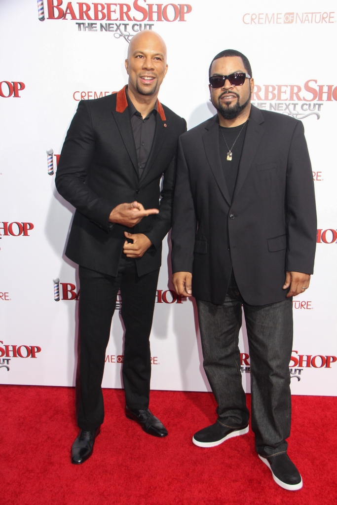 """04/06/2016 - Common, Ice Cube - """"Barbershop: The Next Cut"""" Los Angeles Premiere - Arrivals - TCL Chinese Theatre, 6925 Hollywood Boulevard - Hollywood, CA, USA - Keywords: Vertical, Portrait, Photography, Movie Premiere, Film Industry, Red Carpet Event, Arts Culture and Entertainment, Arrival, Attending, Person, People, Celebrity, Celebrities, Topix, Bestof, Comedy, Los Angeles, California Orientation: Portrait Face Count: 1 - False - Photo Credit: Izumi Hasegawa / PRPhotos.com - Contact (1-866-551-7827) - Portrait Face Count: 1"""