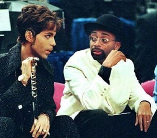 """Spike Lee shared a photo on Instagram along with the caption: """"I Miss My Brother. Prince Was A Funny Cat. Great Sense Of Humor."""""""