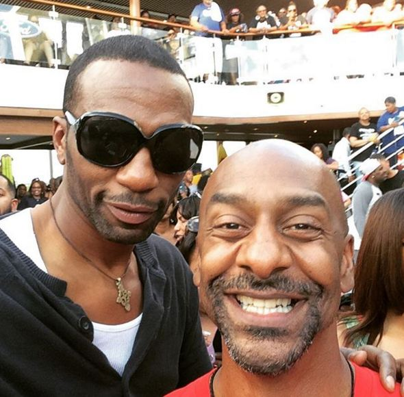 Stephen Hill and Leon