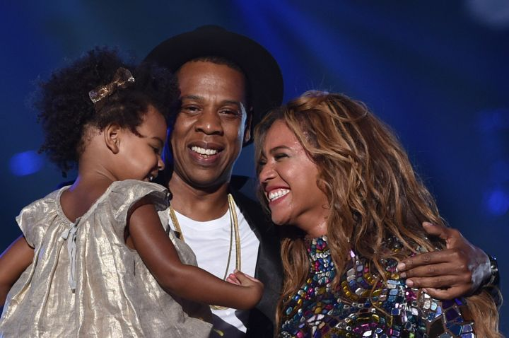 Beyonce, Jay-Z, Blue Ivy and their two new editions Sir Carter & Rumi