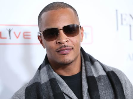 "FILE- In this Jan. 20, 2016, file photo, T.I. arrives at the grand opening of ""Jennifer Lopez: All I Have"" show at Planet Hollywood Resort & Casino in Las Vegas. According to authorities several people were shot at a T.I concert in New York, Wednesday, May 25, 2016. (Photo by Omar Vega/Invision/AP, File)"