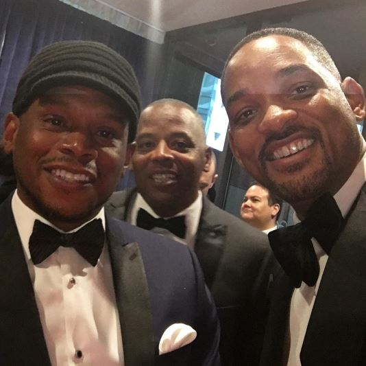 Sway and Will Smith