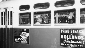 Little Known Black History Fact: Tallahassee Bus Boycott