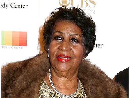 Stevie Wonder, Jesse Jackson, Glyn Turman Visit Ailing Aretha Franklin