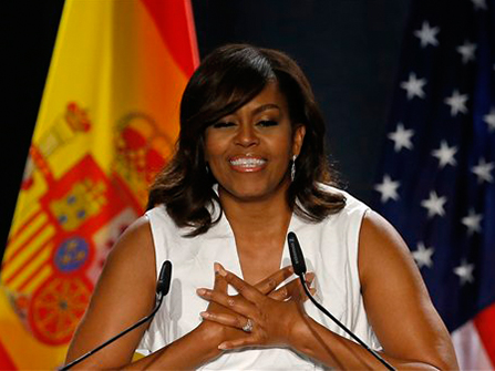 MichelleObamaAP