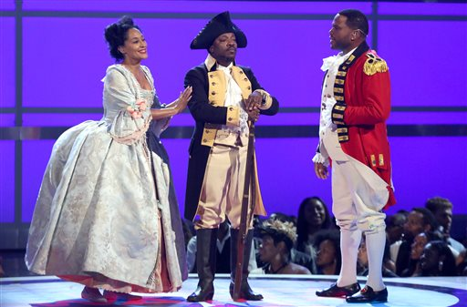 Tracee Ellis Ross, Anthony Hamilton and Anthony Anderson
