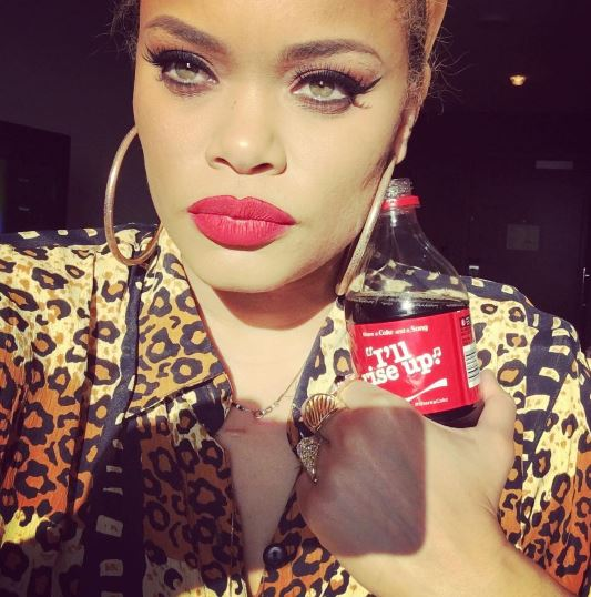 Her lyrics are featured on over 40 million bottles of Coca Cola.